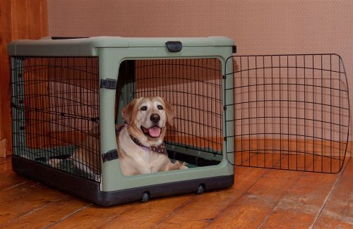 Amazon Pet Gear The Other Door Steel Crate Tanblack 36