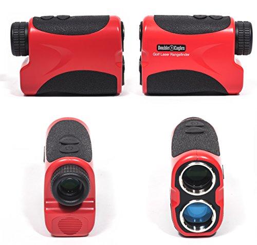 Kozyvacu Double Eagles Depro-600 Golf Laser Range Finder With Pin Sensor, Laser Binoculars, Free Battery, Water Proof by Kozyvacu (Image #2)
