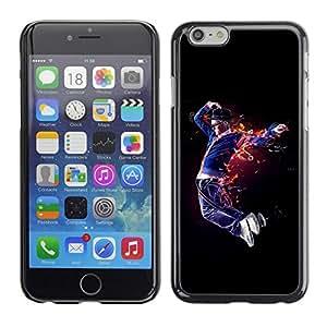 "For Apple Iphone 6 Plus / 6S Plus ( 5.5 ) , S-type Flaming Bailarín"" - Arte & diseño plástico duro Fundas Cover Cubre Hard Case Cover"