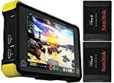 Atomos Shogun Flame 4K HDMI/12-SDI 7'' Recording Monitor - Bundle with 2x SanDisk Ultra II 240GB Solid State Drive