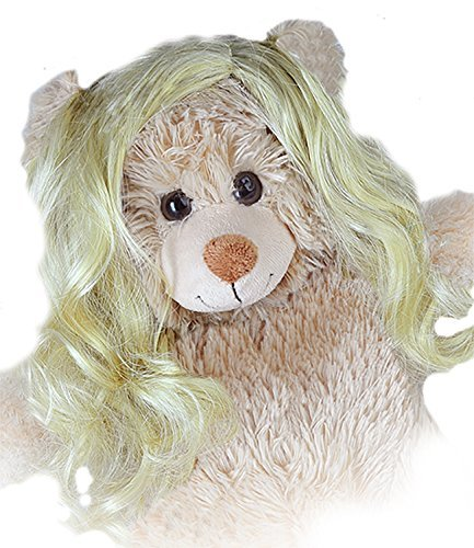 Long Blond Curly Wig Fits Most 14