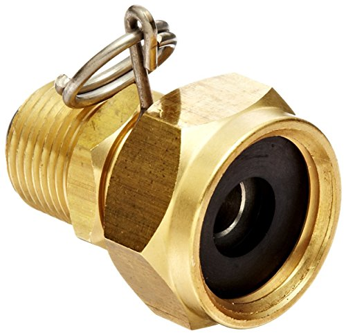 Dixon BMAS974 Brass Washdown Spray Gun Fitting, Swivel Connector, 1/2