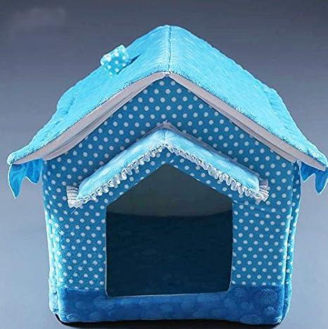 ZQ @ QX creativos Mode presupuesto Pet Supplies mascotas Casa es lavable extraíble y caseta: Amazon.es: Productos para mascotas