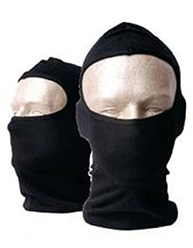 Ninja Stealth Face Ski Mask One Hole Balaclava Hood by XO ...