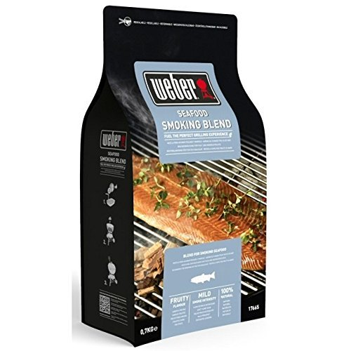Weber 17665 barbeque wood smoking chips seafood 700g