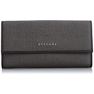 [ブルガリ] BVLGARI 長札(小銭入れ付) 32589 BLACK (ブラック)[並行輸入品]