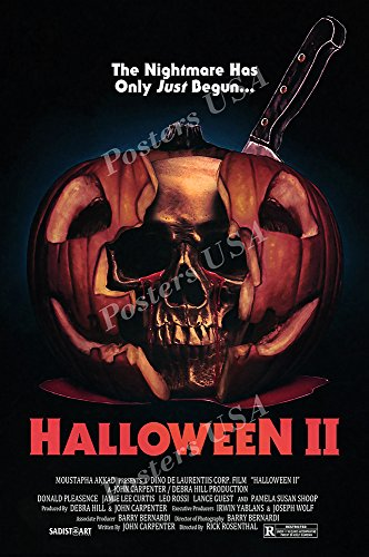 Posters USA Halloween II GLOSSY FINISH Movie Poster - FIL900 (24
