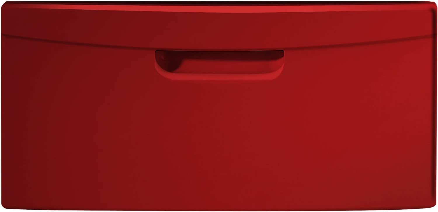 "Samsung WE357A0R 15"" Tango Red Red Laundry Pedestal"