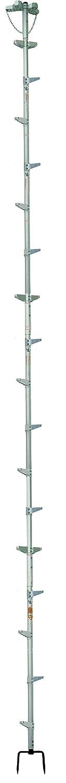 巴化成工業 ロッキーラダー 2/L-600 (6m)/林業木登りハシゴ B06XG3RT1Y