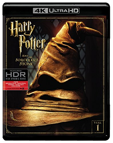 Harry Potter Sorcerer's Stone (UHD/BD) [Blu-ray] (Harry Potter Collection 8pk 4k Ultra Hd Digital)