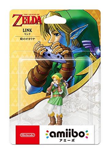 LOZ: Ocarina of Time Link Japanese Version Amiibo Accessory [Nintendo]
