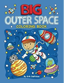 Astronauts In Outer Space Coloring Book (Super Fun Coloring Books ...