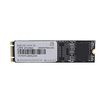 Kafuty Disco Duro Negro de 120GB, Disco Duro SSD M.2 2280 de Alta ...