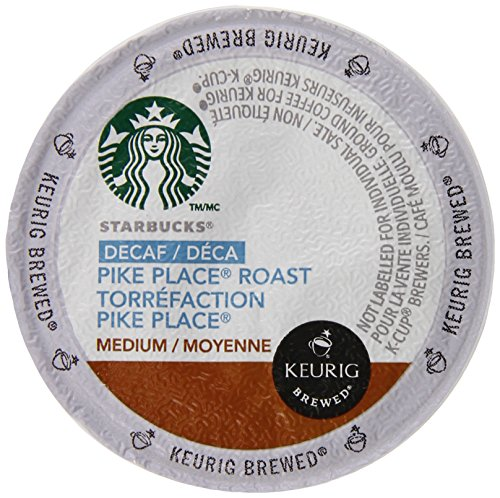 Starbucks Decaf Pike Place Roast, K-Cup for Keurig Brewers, 96 - Pike The Outlets