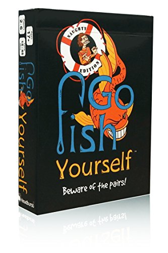 Headburst Go Fish Yourself Party Game Expansion (Naughty - Twisted Fish