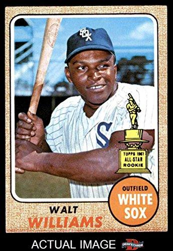1968 Topps # 172 Walt Williams Chicago White Sox (Baseball Card) Dean's Cards 4 - VG/EX White Sox - 1968 Chicago White Sox