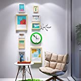 WUXK Photo wall vertical version of creative wall clock the wall is decorated in a simple modern small fresh photo frame combination Wall 2