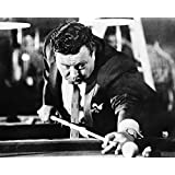Jackie Gleason The Hustler 16x20 Canvas Giclee With Pool Cue Classic