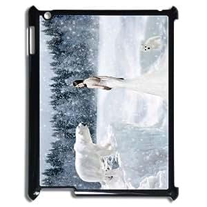nazi diy The polar bear CHA9099623 Phone Back Case Customized Art Print Design Hard Shell Protection Ipad2,3,4