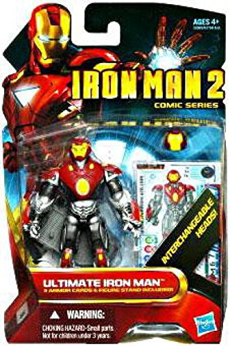 Super-Heroes Iron Man 2 Comic Series 4 Inch Action Figure #36 Ultimate Iron Man]()