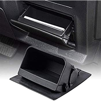 issyzone fuse box coin holder inner container storage tray for subaru xv  crosstrek forester outback legacy