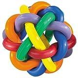 Multi Pet Nobbly Wobbly Dog Rubber Ball-Medium