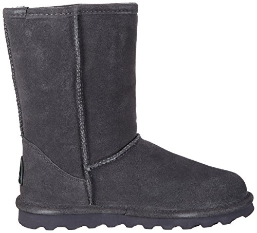 BEARPAW Women's Elle Boot Fashion Short Charcoal AzAqwfr