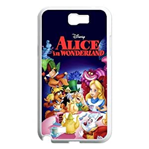 Samsung Galaxy N2 7100 Cell Phone Case White Alice in Wonderland Character Alice as a gift Y4607615