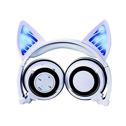 Wireless Bluetooth Cat Ear Headphones Adult, Aitur...