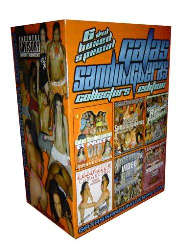 (Gatas Sandungueras Reggaeton 6 DVD Boxed Set Collectors Limited Edition (Vol 4, 5, 8, 1, Reggaeton Camasutra & Greatest Hits 2))