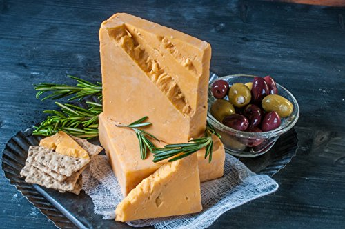 Cheshire Cheese Savory Rosemary Cheddar Cheese Style- Golden Age Cheeses Wisconsin from Harmony Dairy