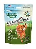 Emerald Pet Cat Dental Grain Free Treats, 3-Ounce, Salmon