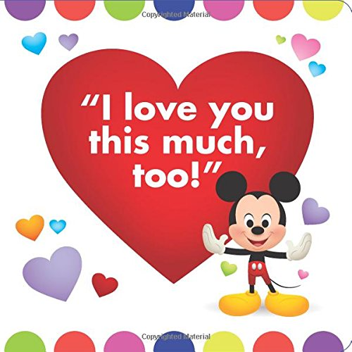 Disney Baby I Love You This Much Disney Book Group Disney