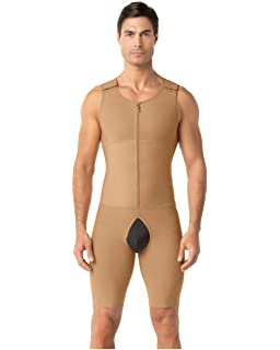 d6608788fa73b Amazon.com  Underworks Mens Compression Tanksuit Girdle Shirt  Clothing