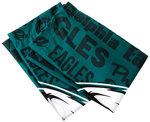 The Northwest Company NFL New York Jets Anthem Pillowcase Set Anthem Pillowcase Set, Green, One Size