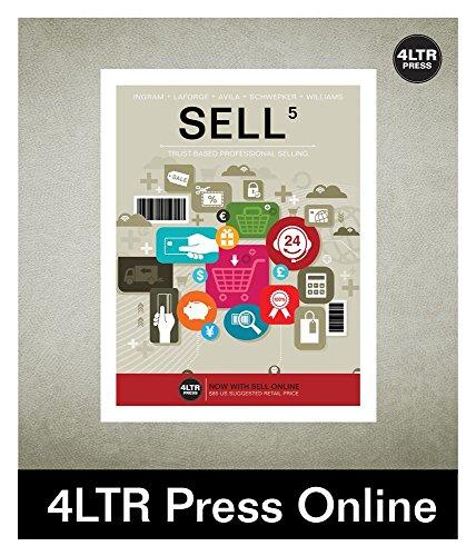 SELL 5 Online for Ingram/Laforge/Avila/Schwepker/Williams' SELL 5, 5th - Sell Cengage