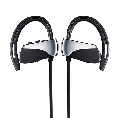 43582a96ca6 Plufy Bluetooth Headphones, Best Wireless Sports Earphones with Mic  Waterproof HD Stereo Sweatproof Earbuds for