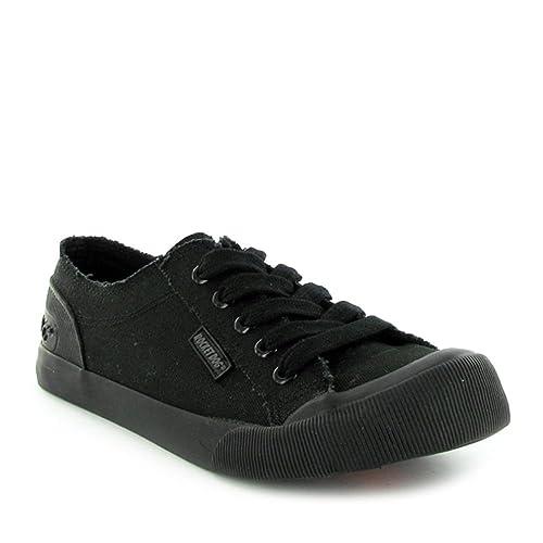 0026fd0219cb Rocket Dog Womens Black Jazzin Canvas Sneakers  Amazon.ca  Shoes   Handbags