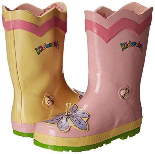 Kidorable Lotus Rain Boot (Toddler/Little Kid), Pink, 7 M US Toddler by Kidorable (Image #6)
