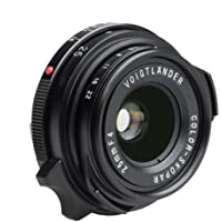 Voigtlander Color-Skopar 25mm f/4.0 Pancake Lens with Leica M Mount - Black