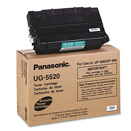 890 Fax Uf (PANASONIC UG5520 TONER FOR USE IN UF-890 UF-990. Toner cartridge - Black - Up to 12000 pages - UF890 / UF990 (Catalog Category: Office Machines & Supplies / Fax Machine Supplies))