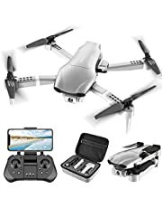 $129 » 4DRC F3 GPS Drone 4K with FPV Camera Live Video,Foldable Drone for Adults,RC Quadcopter for Beginners,with Auto Return Home, Follow Me,Dual Cameras,Waypoints, Long Control Range,1 Extra Battery+Pack