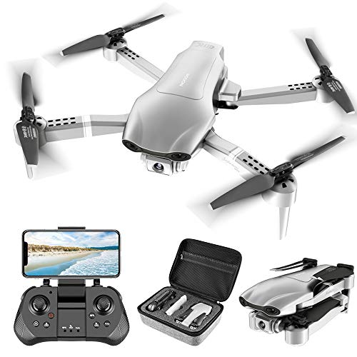 4DRC F3 GPS Drone with 4K Camera for Adults ,Foldable Drone with 5GHz FPV Live Video RC Quadcopter with Auto Return Home…