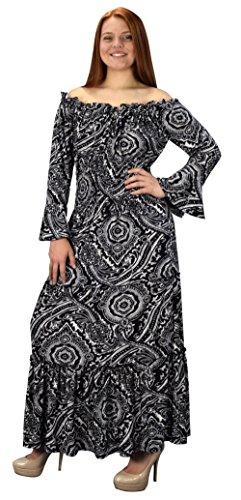 long black halloween dress - 5