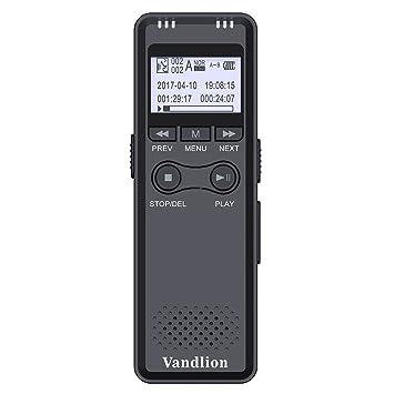 Grabadora de voz digital por vandlion, 8 GB 280hours sonido ...