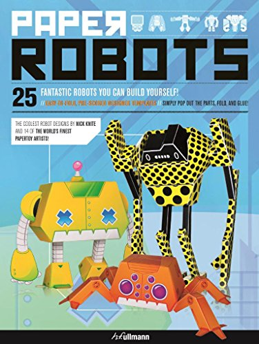 Paper Toy Robot - 3