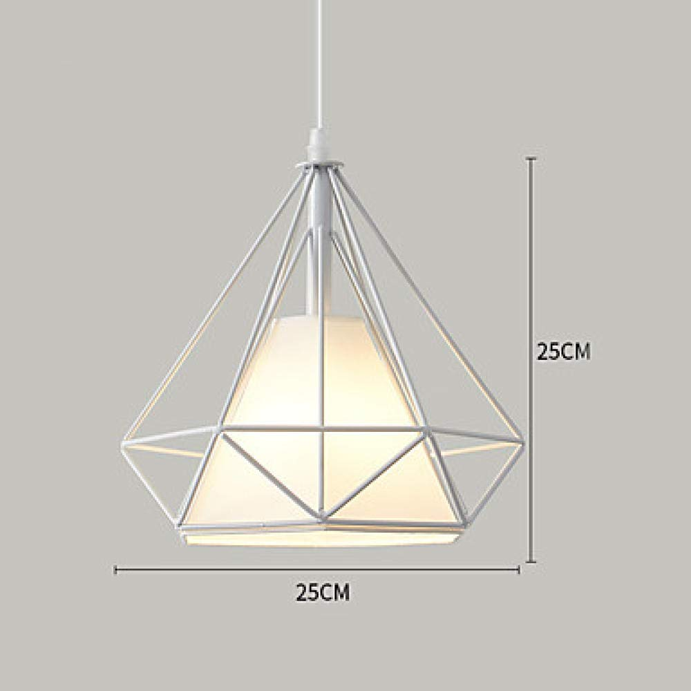 Geometrische Pendelleuchte Downlight Painted Finishes Metal 110-120V   220-240V Warmweiß Kaltweiß@Kaltes Weiß_220-240V_Weiß_1-Licht