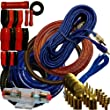 4 Gauge Amplfier Power Kit for Amp Install Wiring Complete RCA Cable BLUE 2800W