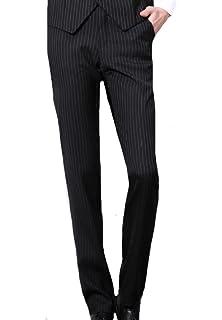 NestYu Mens No Iron Linen Relaxed-Fit Original Fit Dress Chino Pant