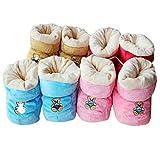 M-Egal Baby Cotton Boots Soft Anti Slip Warm Winter Infant Prewalker Toddler Boots
